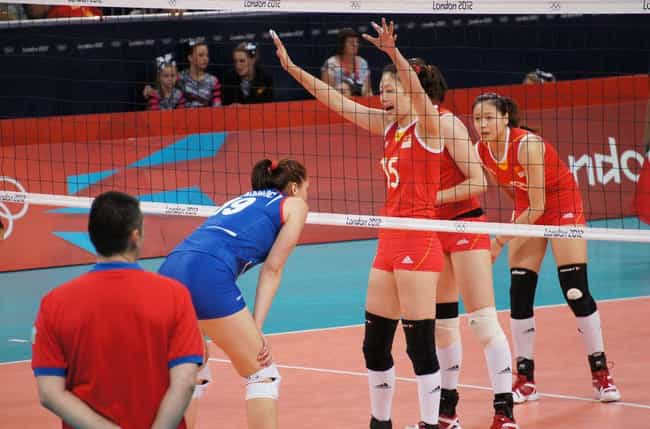 Wei Qiuyue is listed (or ranked) 7 on the list Famous Volleyball Players from China