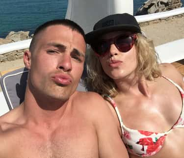 Colton Haynes is listed (or ranked) 2 on the list Emily Bett Rickards Loves and Hookups
