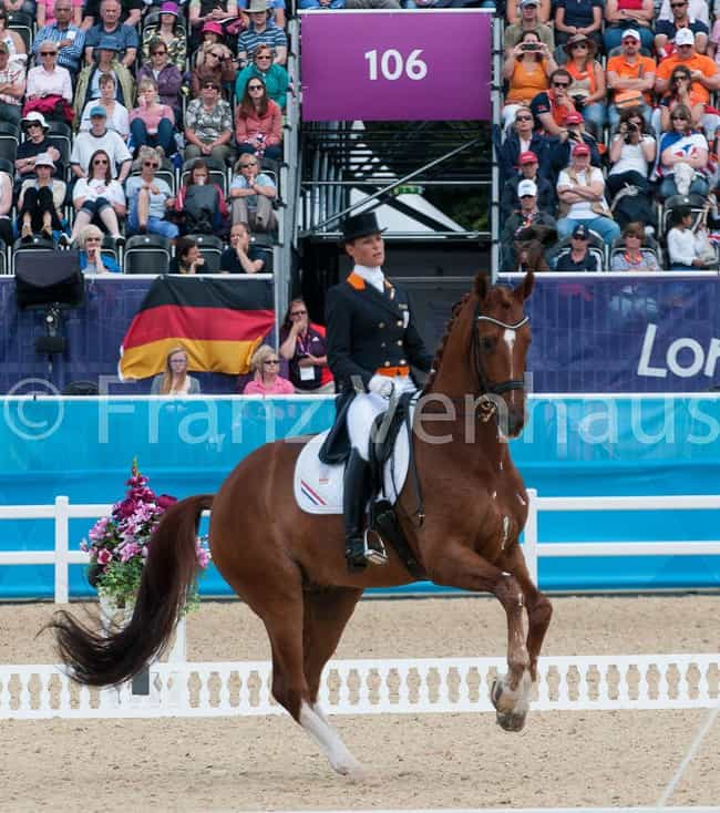 Adelinde Cornelissen is listed (or ranked) 1 on the list Famous Equestrians from the Netherlands