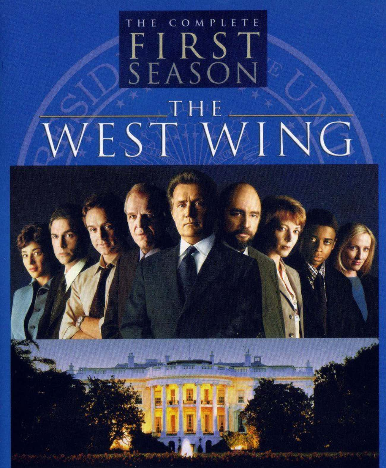 The West Wing - Season 1 is listed (or ranked) 2 on the list Ranking the Best Seasons of 'The West Wing'