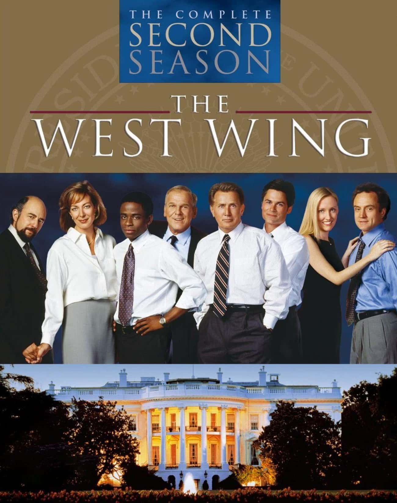 The West Wing - Season 2 is listed (or ranked) 1 on the list Ranking the Best Seasons of 'The West Wing'