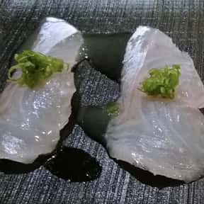 Sea Bass is listed (or ranked) 9 on the list The Best Fish for Sushi