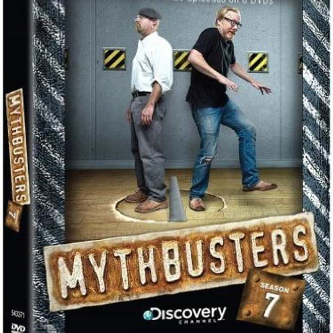 MythBusters Season 7 is listed (or ranked) 1 on the list The Best Seasons of MythBusters