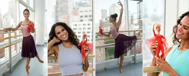 Misty Copeland is listed (or ranked) 1 on the list The Most Accurate Celebrity Barbie Dolls