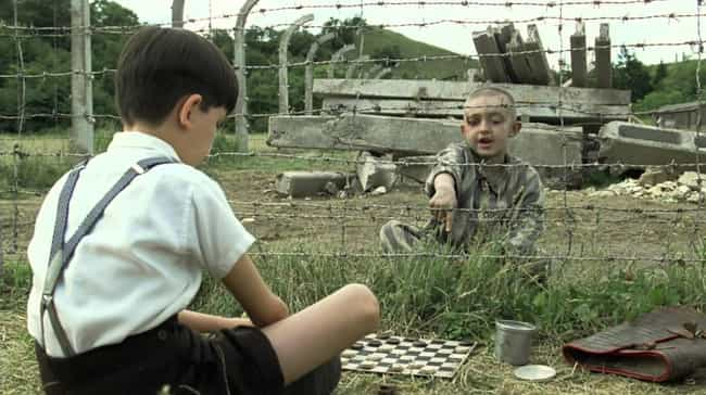 The Boy in the Striped P... is listed (or ranked) 3 on the list Movies That Elicit Sorrow, And The Importance Of Feeling Sad