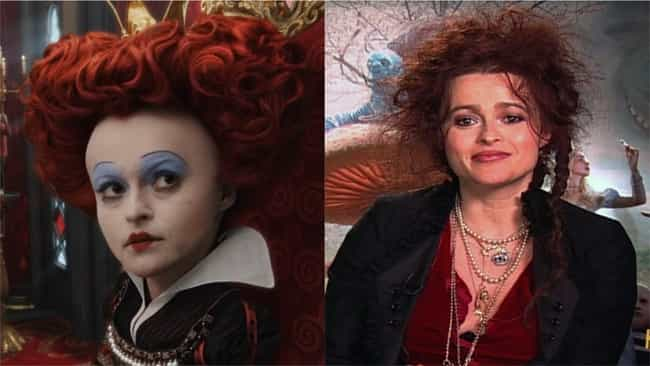 Alice in Wonderland is listed (or ranked) 4 on the list Here Are All Of Helena Bonham Carter's Most Dramatic Character Transformations