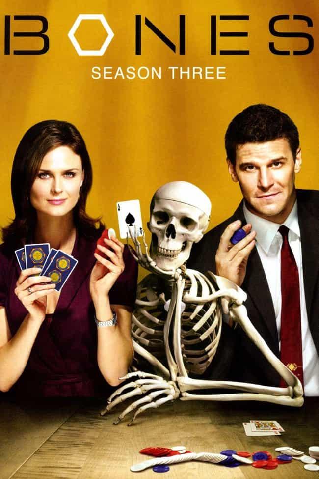 Bones Season 3 is listed (or ranked) 1 on the list The Best Seasons of 'Bones'