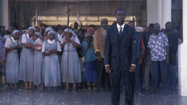 Hotel Rwanda is listed (or ranked) 1 on the list What Happened After These 13 Historical Movies Ended?