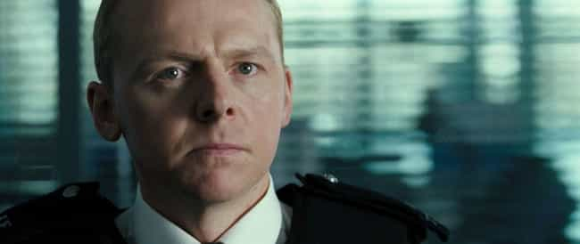 Hot Fuzz is listed (or ranked) 2 on the list Surprisingly Plausible Fan Theories About Super Famous Comedy Movies