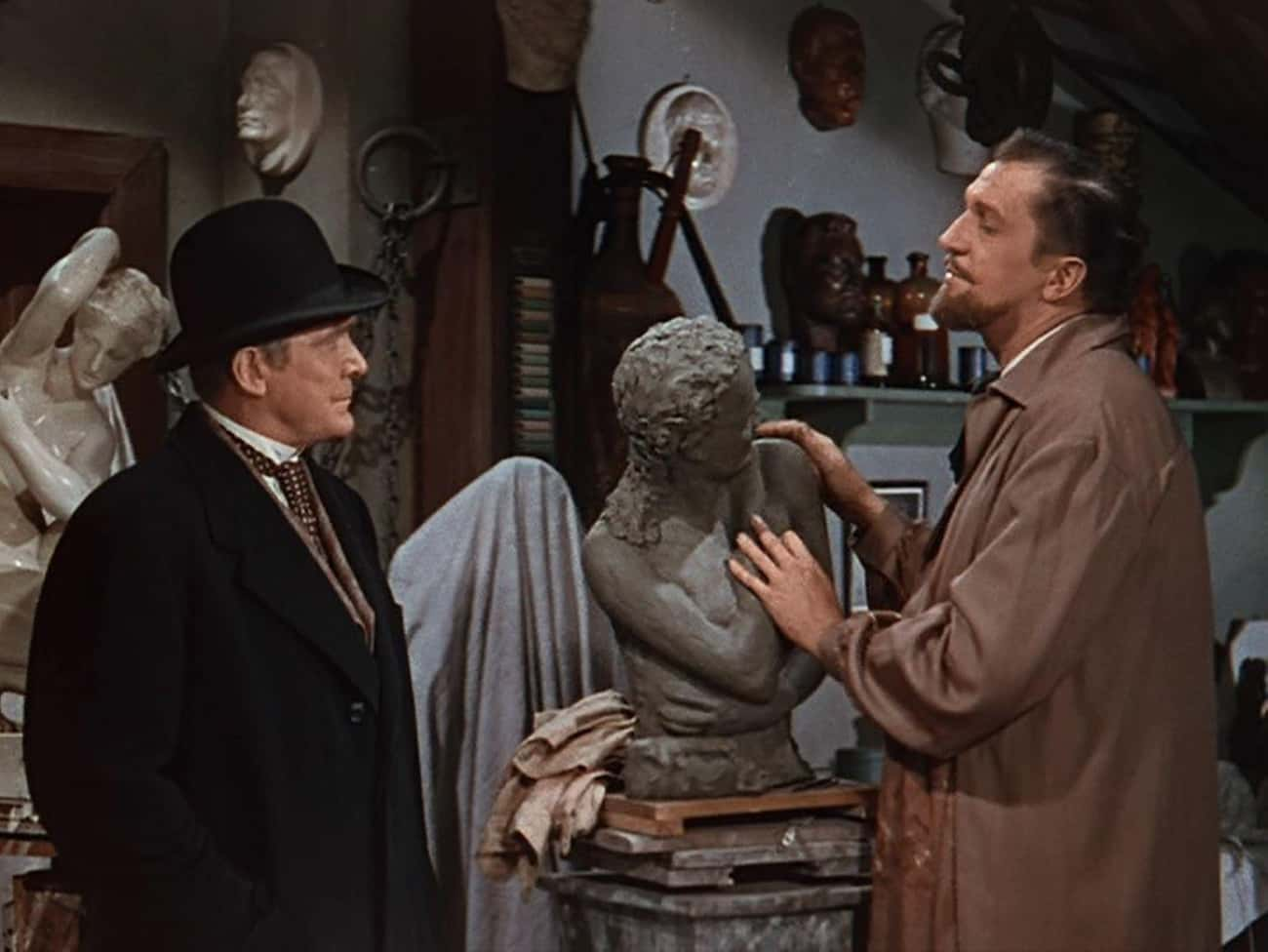 House of Wax is listed (or ranked) 4 on the list Terrible Horror Movies With Great Villains