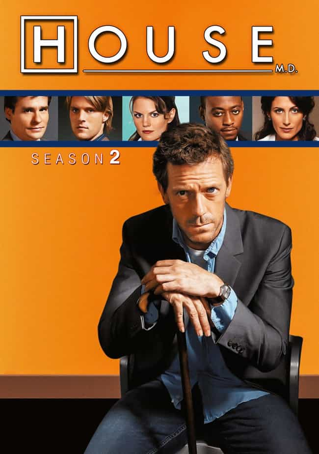 House - Season 2 is listed (or ranked) 1 on the list The Best Seasons of 'House'