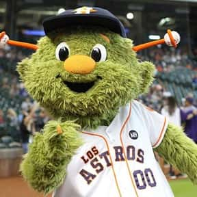 Orbit is listed (or ranked) 2 on the list The Best Mascots in Major League Baseball