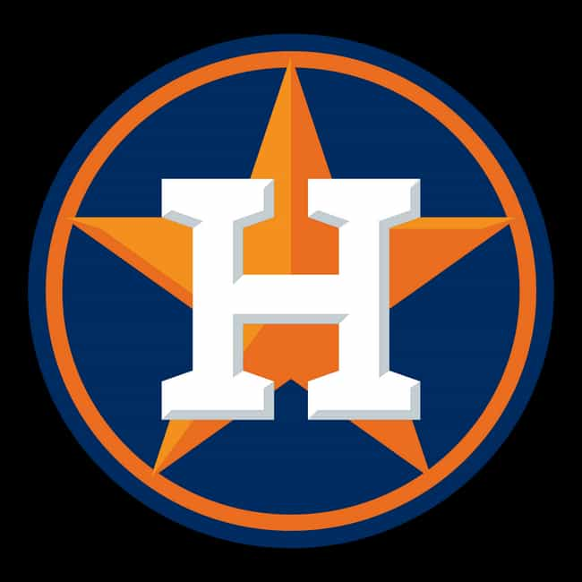 Houston Astros is listed (or ranked) 4 on the list The Coolest Baseball Team Logos Of All Time