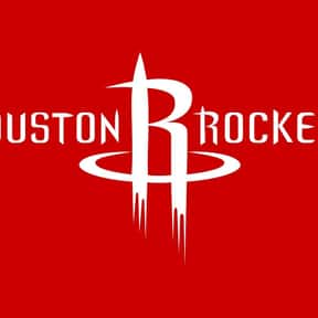 Houston Rockets is listed (or ranked) 21 on the list The Coolest Basketball Team Logos
