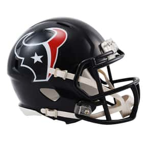 Texans is listed (or ranked) 21 on the list The Best Current NFL Helmets