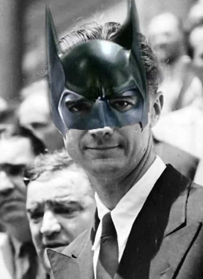 Howard Hughes is listed (or ranked) 1 on the list Which Historical Figure Would Make The Best Batman?
