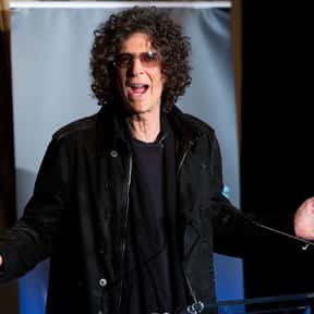 Howard Stern is listed (or ranked) 1 on the list Famous Boston University Alumni