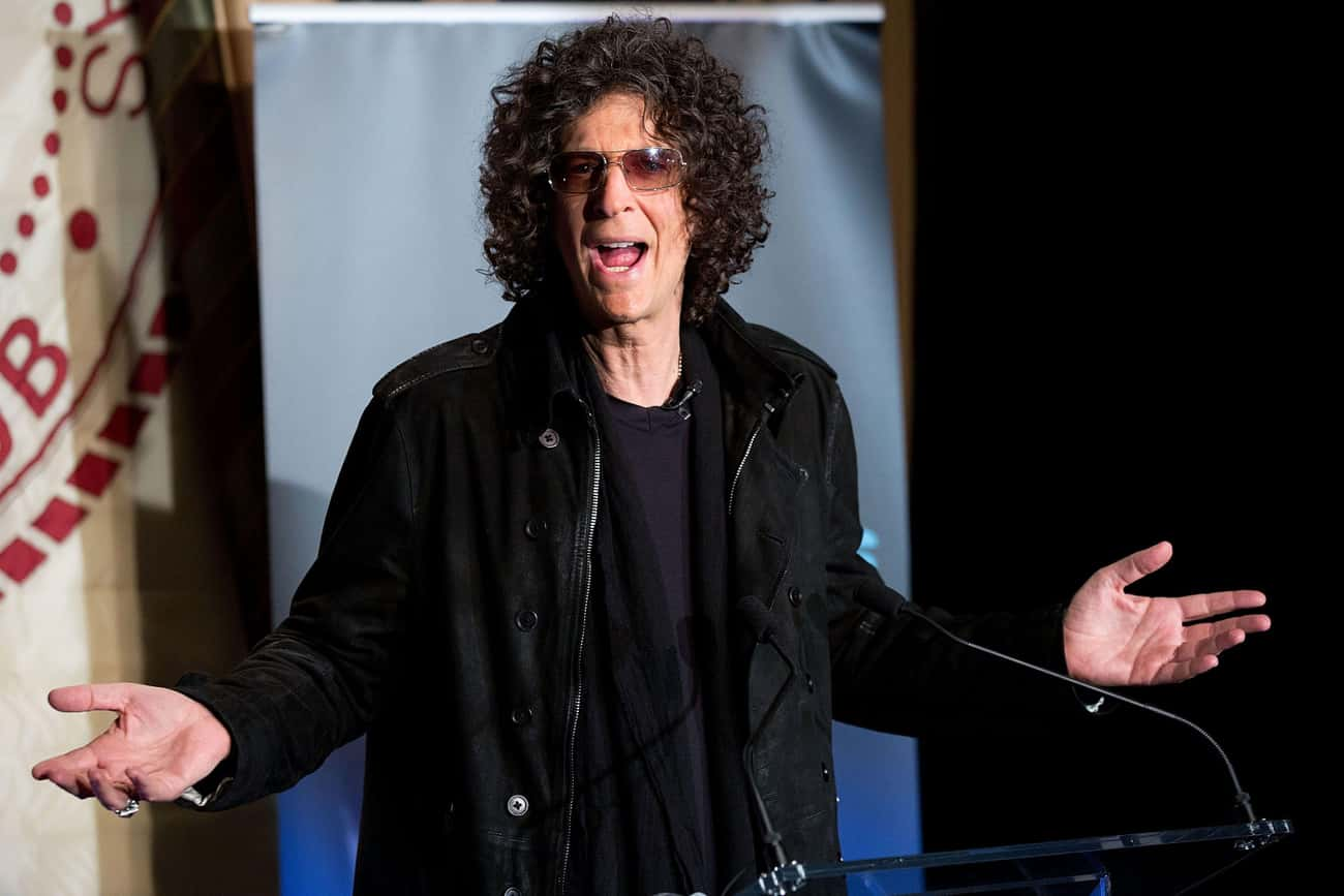 Howard Stern is listed (or ranked) 3 on the list Famous Male TV Personalities