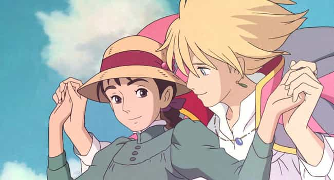 Howl's Moving Castle is listed (or ranked) 4 on the list The 13 Best Supernatural Romance Anime