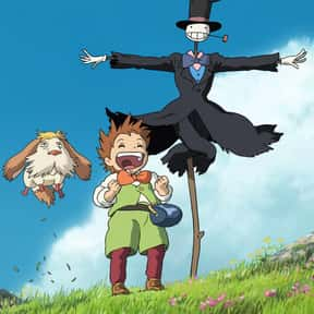 Howl's Moving Castle is listed (or ranked) 6 on the list The Best Anime to Watch While You're Stoned