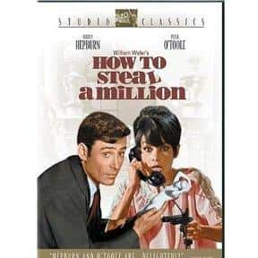 How to Steal a Million is listed (or ranked) 3 on the list The Best '60s Romantic Comedies