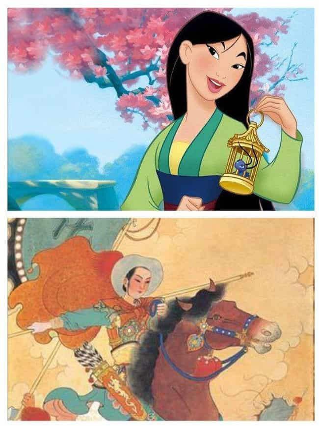 Hua Mulan is listed (or ranked) 2 on the list 12 Times Women Disguised As Men Made History