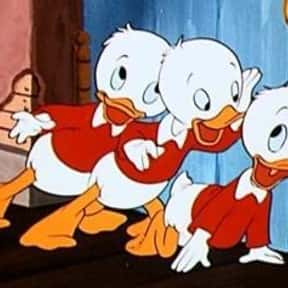Huey, Dewey and Louie is listed (or ranked) 9 on the list The Best Bird Characters In Cartoons And Comics