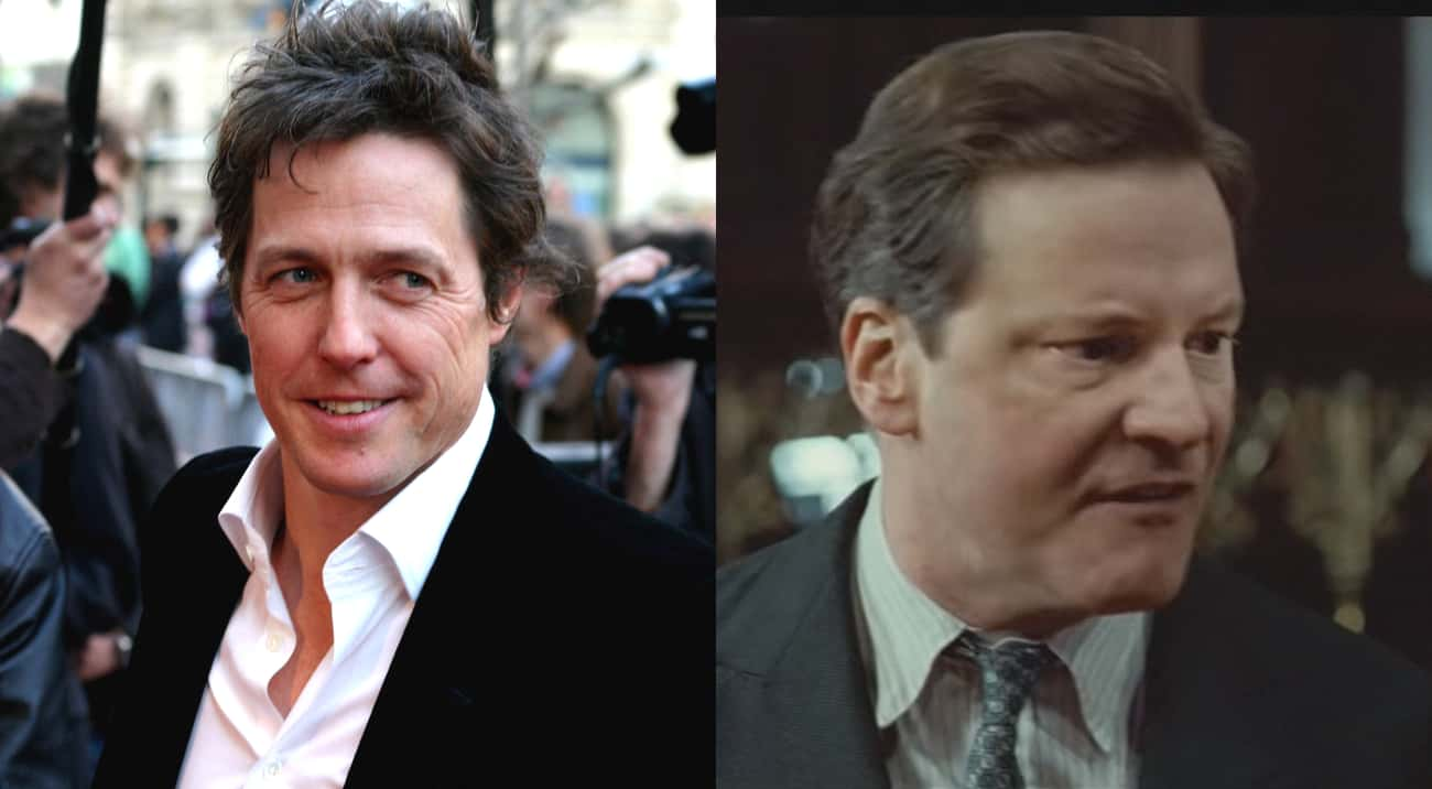 Hugh Grant Passed On Colin Fir is listed (or ranked) 2 on the list Actors Who Turned Down Oscar-Winning Roles