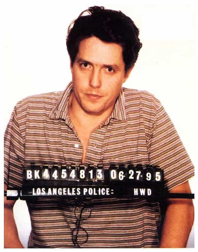 Hugh Grant is listed (or ranked) 2 on the list Celebrities Who Have Been Caught with Hookers