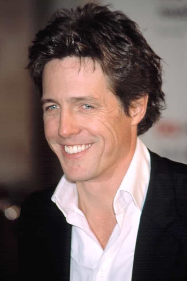Hugh Grant is listed (or ranked) 5 on the list Famous People Who Never Married