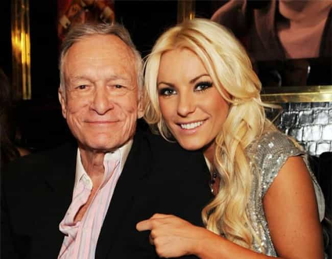 Hugh Hefner is listed (or ranked) 2 on the list 49 Famous Couples with Huge Age Differences