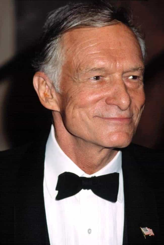 Hugh Hefner is listed (or ranked) 3 on the list 14 Celebrities Who Were Left at the Altar