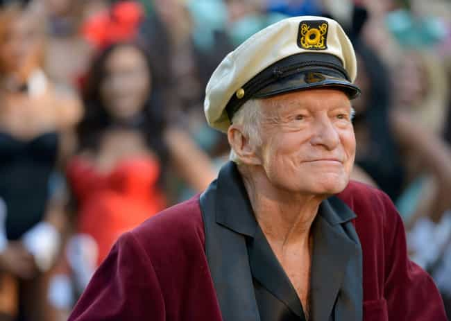 Hugh Hefner is listed (or ranked) 2 on the list Famous Male Editors