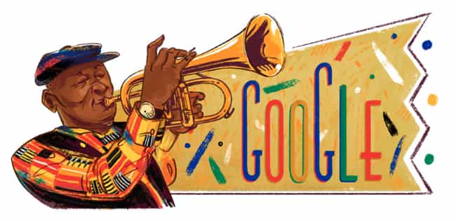 Hugh Masekela is listed (or ranked) 1154 on the list Every Person Who Has Been Immortalized in a Google Doodle
