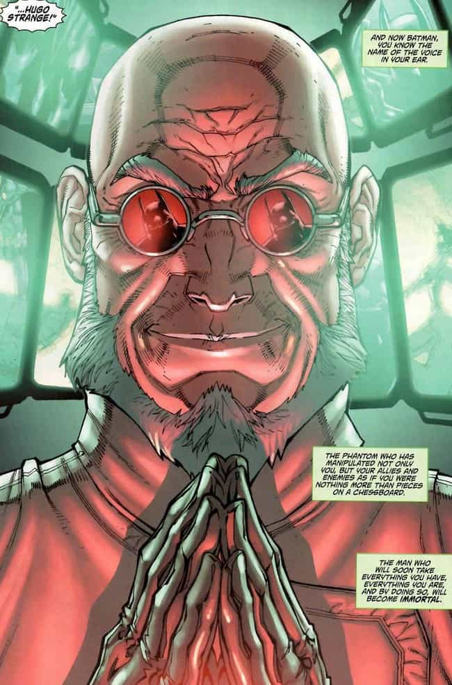 Hugo Strange is listed (or ranked) 1 on the list The Most Criminally Underrated Batman Villains