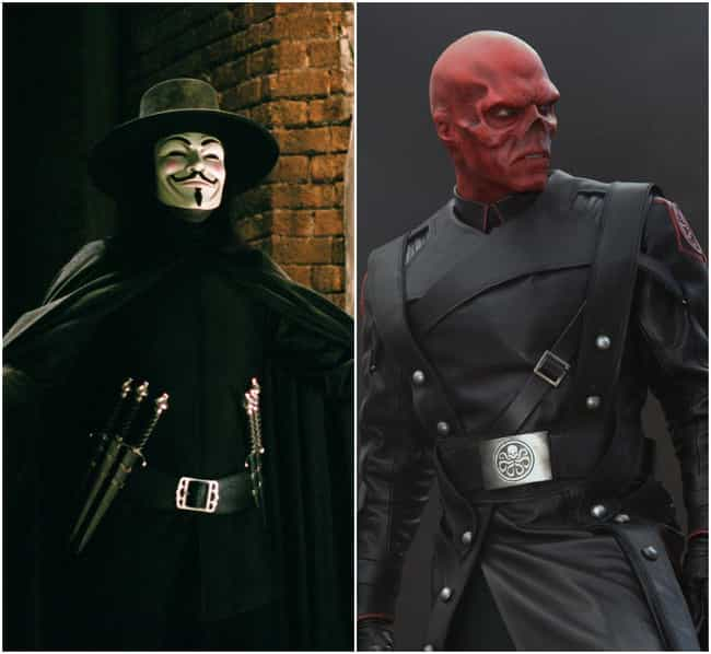 Hugo Weaving is listed (or ranked) 4 on the list Actors Who've Played Multiple Comic Characters
