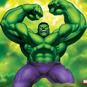 Hulk is listed (or ranked) 5 on the list The Top Marvel Comics Superheroes