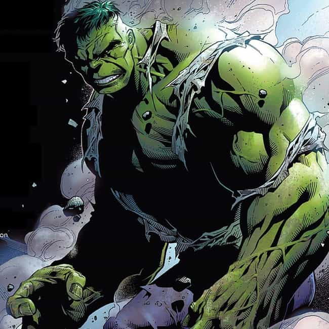 Hulk is listed (or ranked) 4 on the list 25 Things You Love That Were Accidents