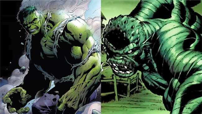 Hulk is listed (or ranked) 1 on the list The Best Superheroes With Evil Doppelgangers