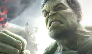 Hulk is listed (or ranked) 6 on the list The Strongest Characters In The MCU, Ranked