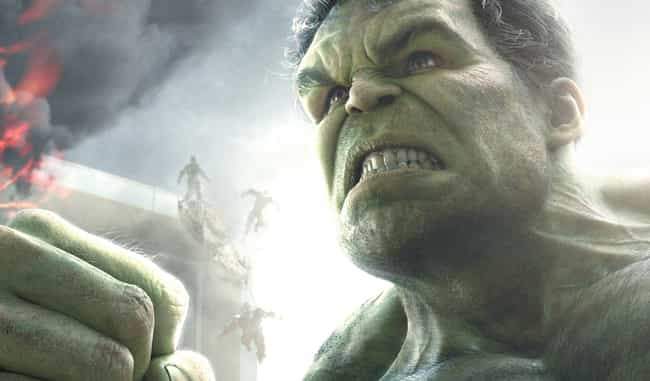 Hulk is listed (or ranked) 5 on the list The Strongest Characters In The MCU, Ranked