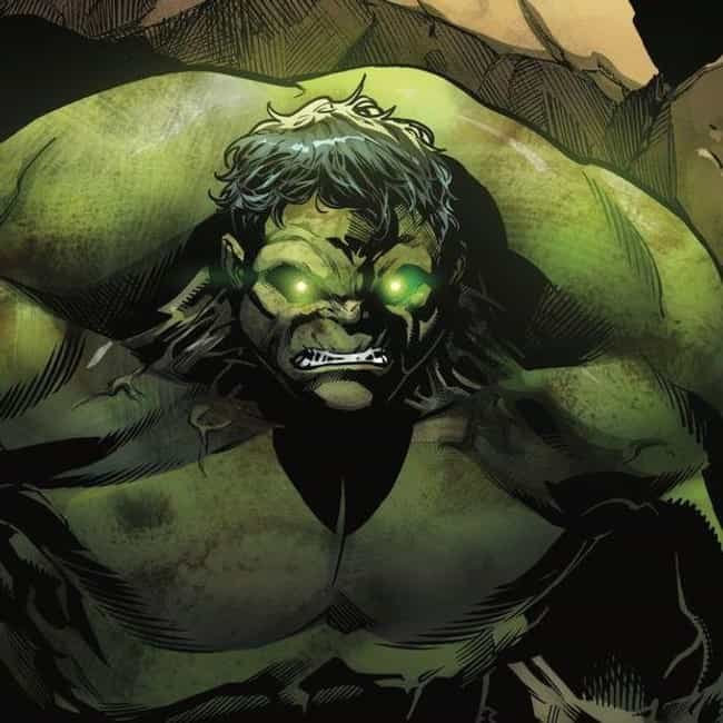 Hulk is listed (or ranked) 2 on the list The Best Comic Book Characters With Green Eyes