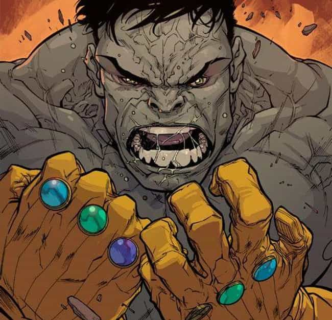 Hulk is listed (or ranked) 3 on the list All The Characters Who Wore The Infinity Gauntlet Besides Thanos