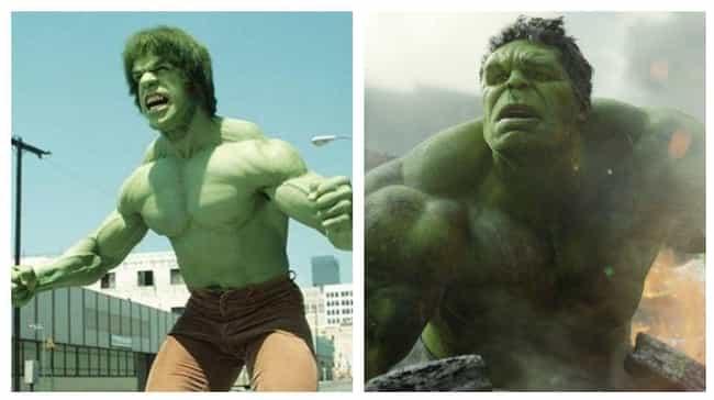 Hulk is listed (or ranked) 4 on the list The Best Superhero Evolution on Film