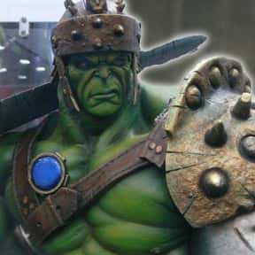 Hulk is listed (or ranked) 4 on the list The Best Characters In The Thor Movies