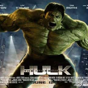 Hulk is listed (or ranked) 2 on the list The Worst CGI Sci-Fi Movies
