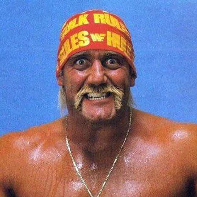 Hulk Hogan is listed (or ranked) 4 on the list The Best Mustaches in Wrestling History