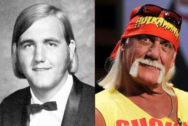 Hulk Hogan is listed (or ranked) 3 on the list Hilarious Yearbook Photos of WWE Superstars
