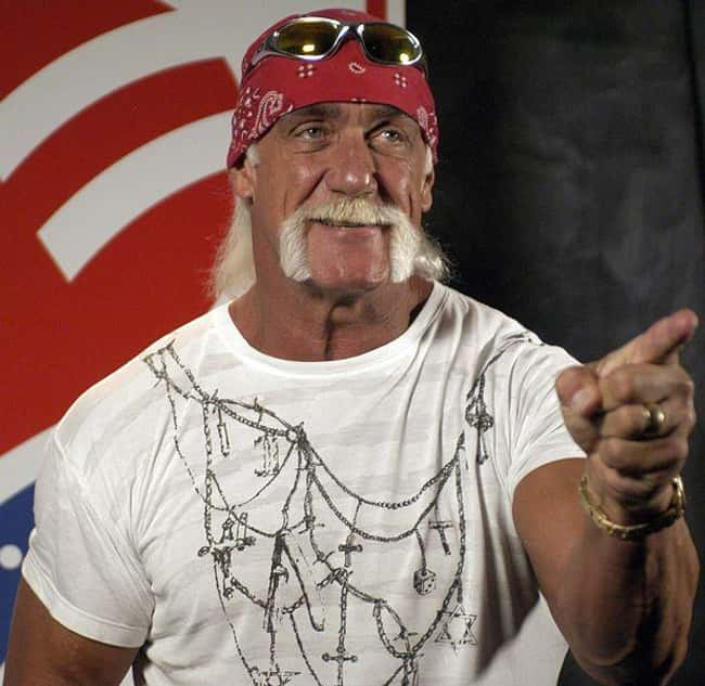 Hulk Hogan is listed (or ranked) 18 on the list Celebrities Who Actually Support Donald Trump