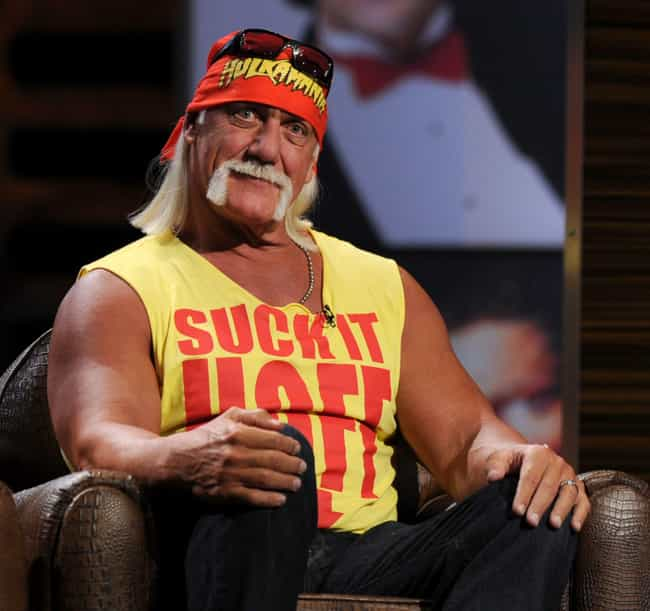 Hulk Hogan is listed (or ranked) 2 on the list 38 Celebrities Caught with Sex Tapes